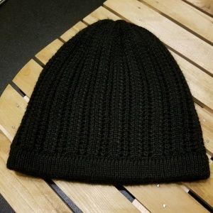 Accessories - Black Knit Sock Hat